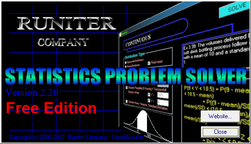 statistics problems solver Training strategies for attaining transfer of problem-solving skill in statistics: a  cognitive-load approach journal of educational psychology, 84(4), 429-434.
