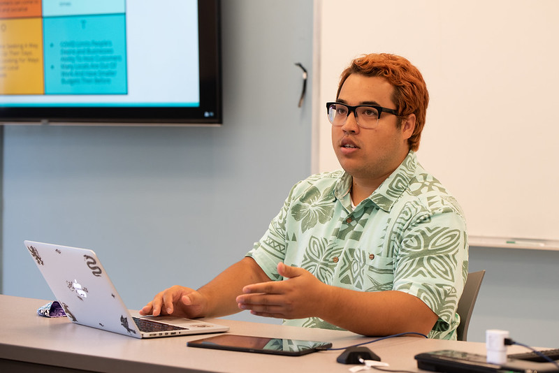 TJ Lau is the small business innovation coach who will work with interns and businesses as part of a new internship program in Hamakua-North Hawai'i that aims to help the community recover from the economic effects of the COVID-19 pandemic.