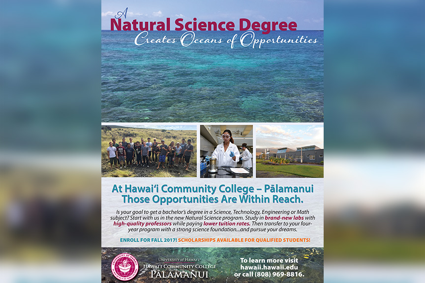 Natural Science Degree poster