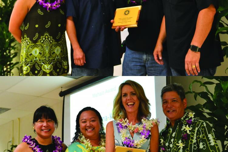 Group photos with Automotive Supply Center and the Kona-Kohala Chamber of Commerce