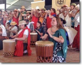 smithsonian folklife festival drumming performance