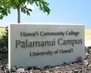 Palamanui Campus sign